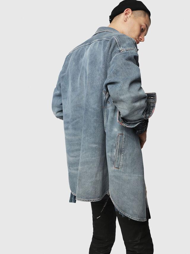 Diesel - D-LOREN, Blue Jeans - Denim Jackets - Image 2
