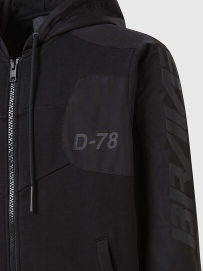 Diesel - S-JAKLER, Black - Sweaters - Image 4