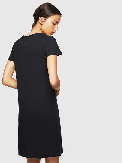 Diesel - UFLT-ISOLLA, Black - T-Shirts - Image 2