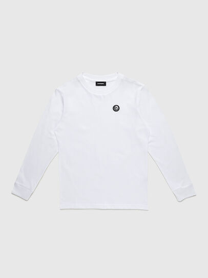 Diesel - TFREDDY ML, White - T-shirts and Tops - Image 1