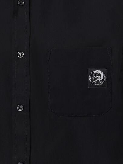 Diesel - S-BILL-POCKET, Black - Shirts - Image 3