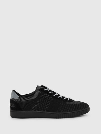 Diesel - S-MILLENIUM LOW, Black/Grey - Sneakers - Image 1