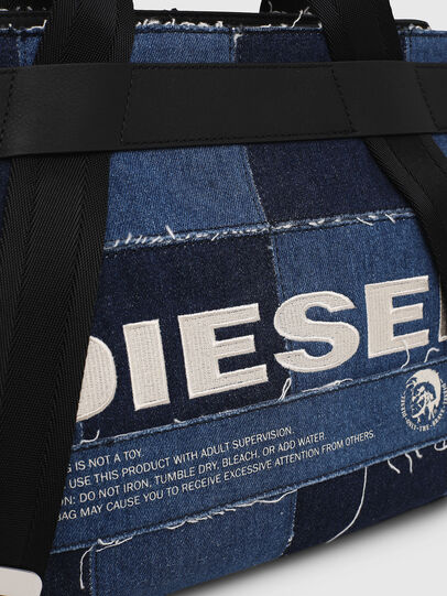 Diesel - F-CAORLY SATCHEL M, Blue - Satchels and Handbags - Image 4