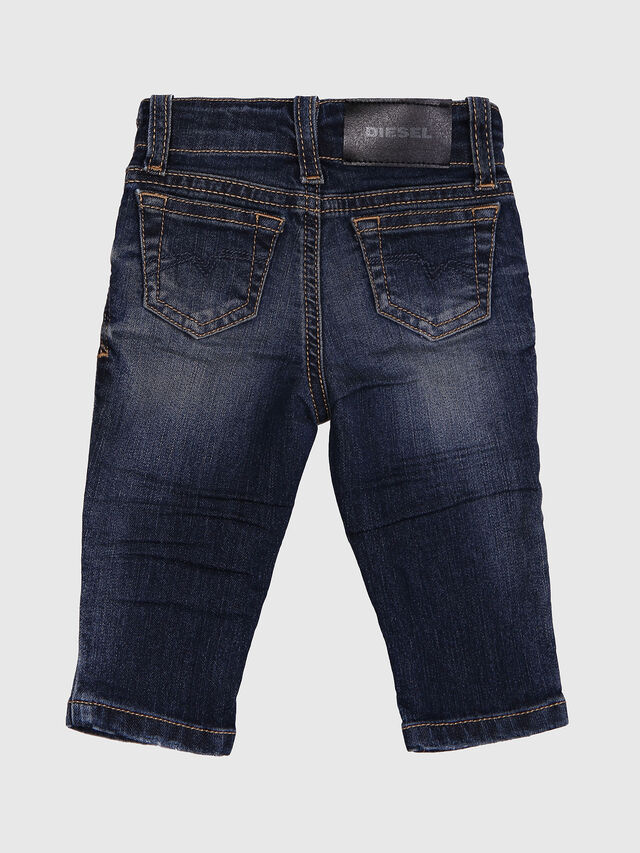 Diesel - GRUPEEN-B, Dark Blue - Jeans - Image 2