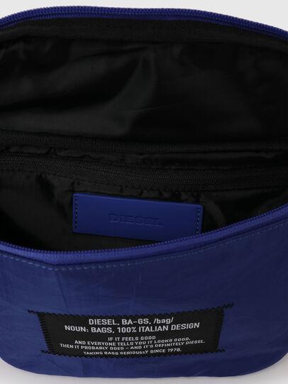 Diesel - F-SUSE BELT DZ, Blue - Belt bags - Image 4