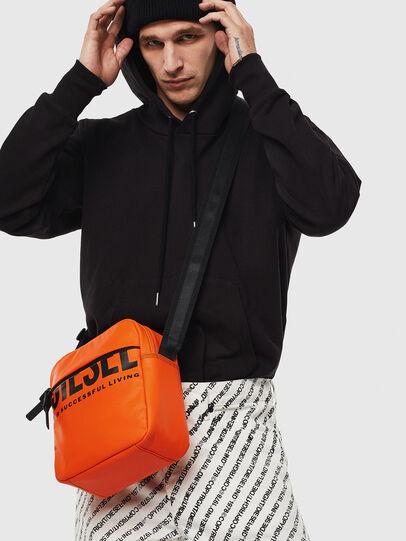 Diesel - DOUBLECROSS, Orange - Crossbody Bags - Image 6