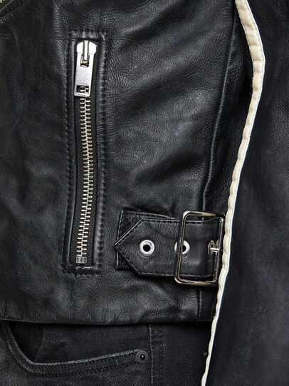 Diesel - L-PARKS,  - Leather jackets - Image 6