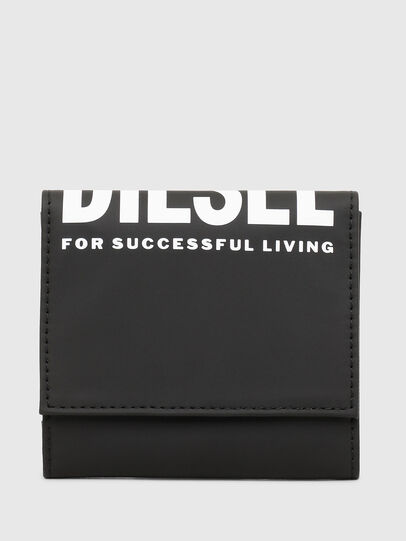 Diesel - YOSHINO LOOP II, Black - Small Wallets - Image 1