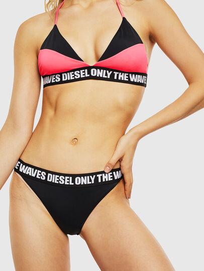 Diesel - BFPN-NICELA, Black/Pink - Panties - Image 1
