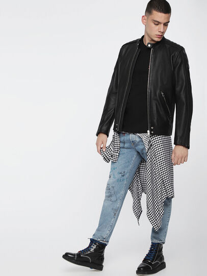 Diesel - L-QUAD,  - Leather jackets - Image 6