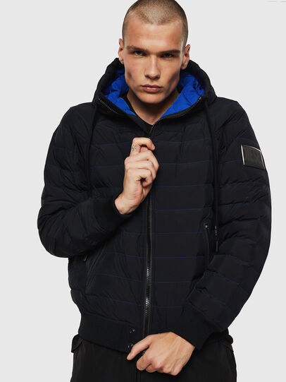 Diesel - W-OBLOSKY, Black - Winter Jackets - Image 1