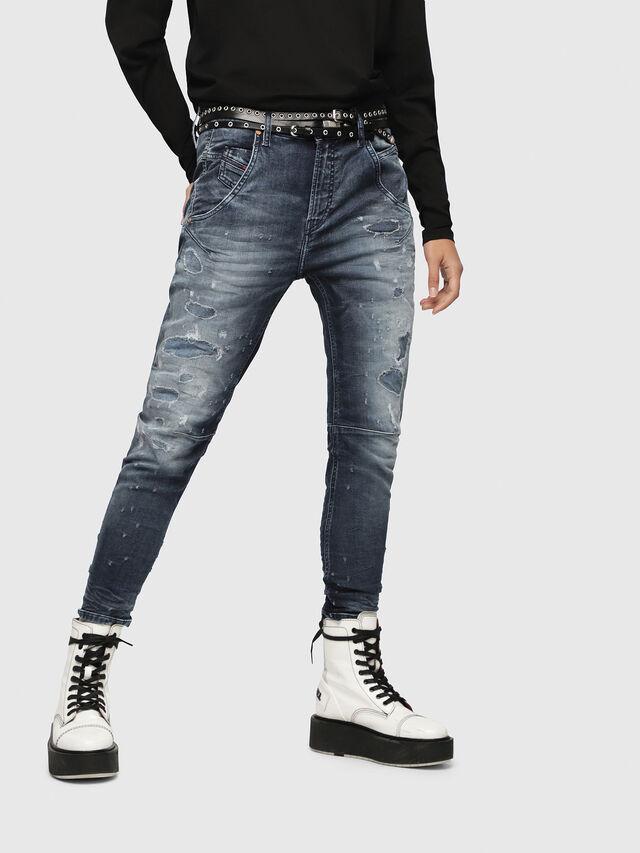 Diesel Fayza JoggJeans 069CC, Medium blue - Jeans - Image 1