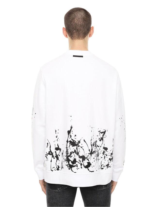 Diesel - SNEILB-SPLASH, White - Sweaters - Image 2