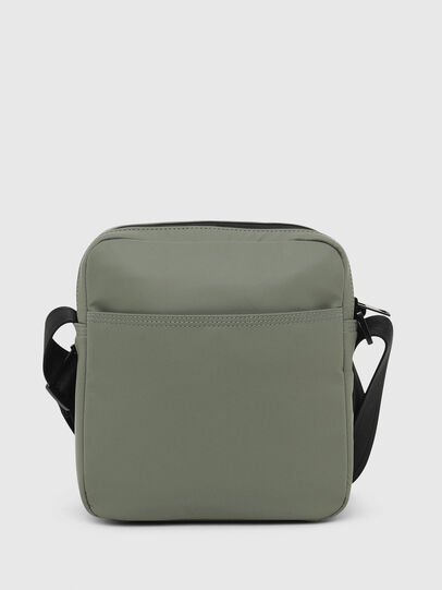 Diesel - F-BOLD DOUBLECROSS I, Olive Green - Crossbody Bags - Image 2