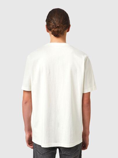 Diesel - T-JUST-B83, White - T-Shirts - Image 2