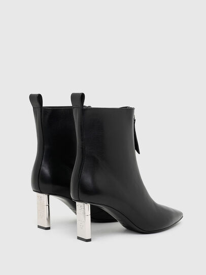 Diesel - D-LEZIPPO MAB, Black/Silver - Ankle Boots - Image 3