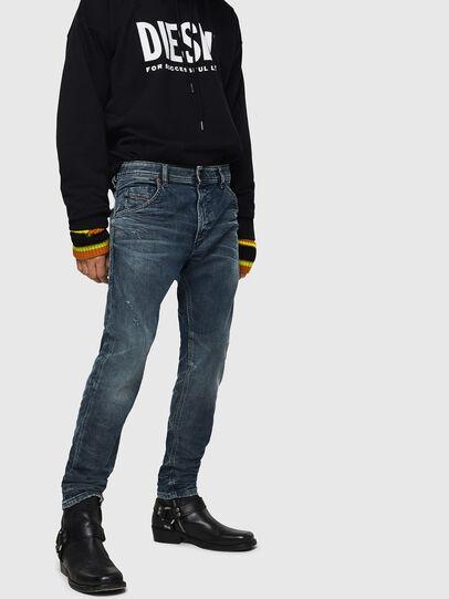 Diesel - Krooley JoggJeans 0870W, Medium blue - Jeans - Image 1