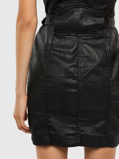 Diesel - D-ACICO JOGGJEANS, Black - Dresses - Image 3