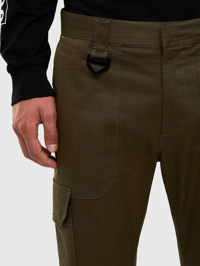 Diesel - P-BAKER-SLIM, Military Green - Pants - Image 3