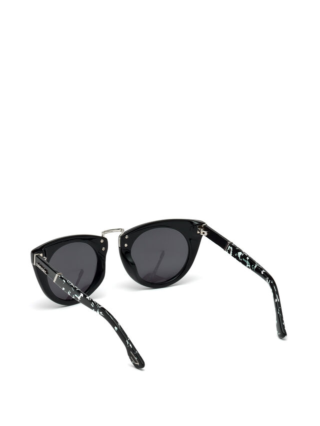 Diesel - DL0211, Black - Sunglasses - Image 2