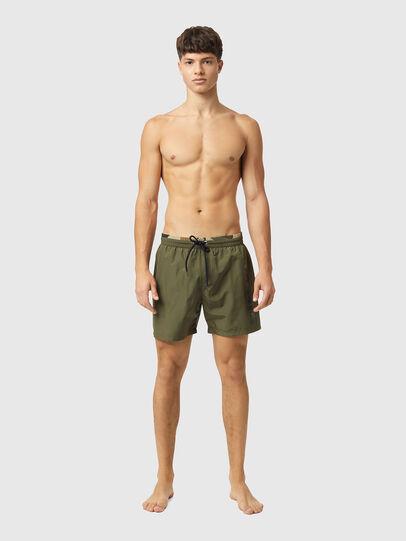 Diesel - BMBX-WAVE-X, Military Green - Swim shorts - Image 1