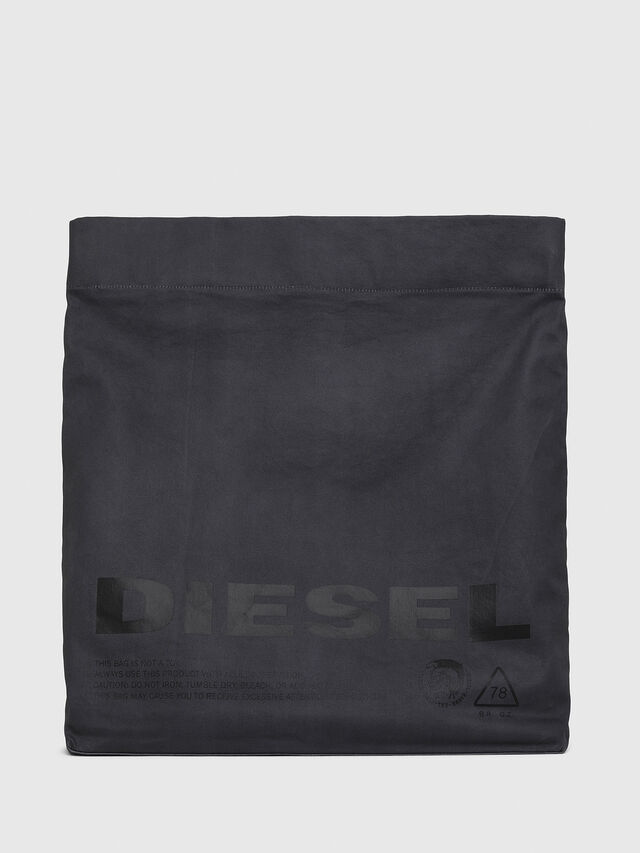 Diesel - F-LITT SHOPPER EW, Dark Blue - Clutches - Image 1