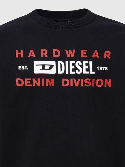 Diesel - S-GIRK-K10, Black - Sweaters - Image 3