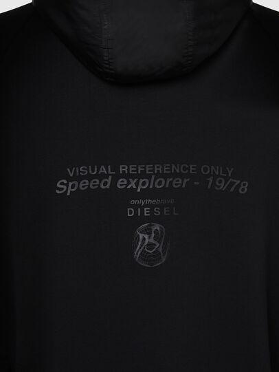 Diesel - S-RUNNER, Black - Sweaters - Image 4