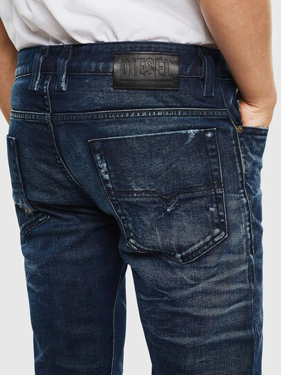 Diesel - Safado 084AM, Dark Blue - Jeans - Image 4
