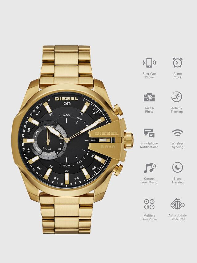 Diesel DT1013, Gold - Smartwatches - Image 1