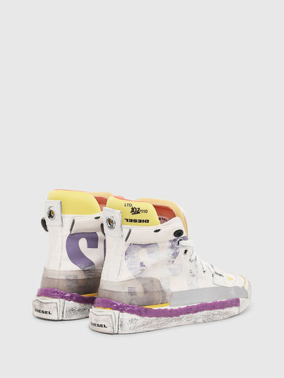 Diesel - S-ASTICO PNT W, White/Pink - Sneakers - Image 3