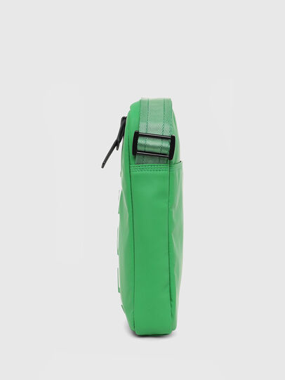 Diesel - F-BOLD SMALL CROSS, Green - Crossbody Bags - Image 3