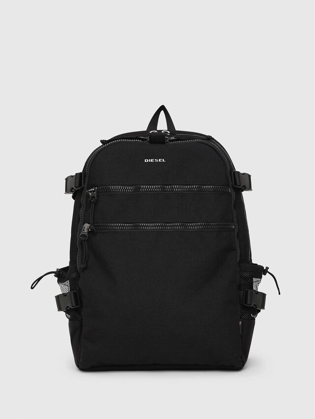 Diesel F- URBHANITY BACK, Black - Backpacks - Image 1