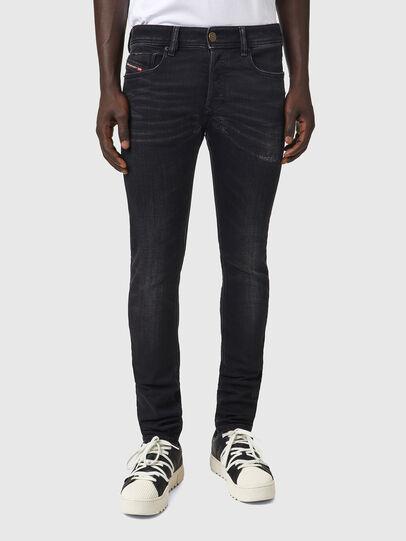Diesel - Sleenker 09A89, Black/Dark grey - Jeans - Image 1