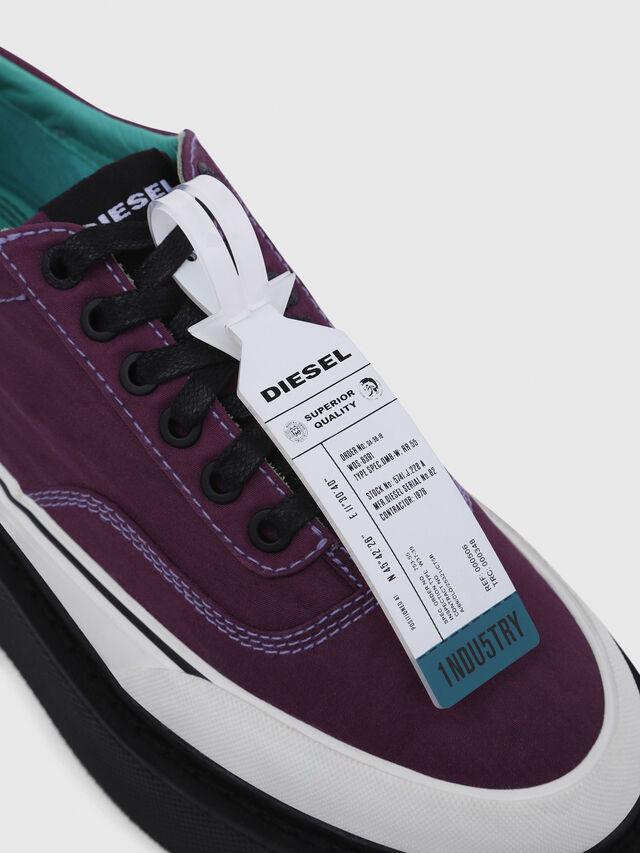 Diesel - H-SCIROCCO LOW, Dark Violet - Sneakers - Image 4
