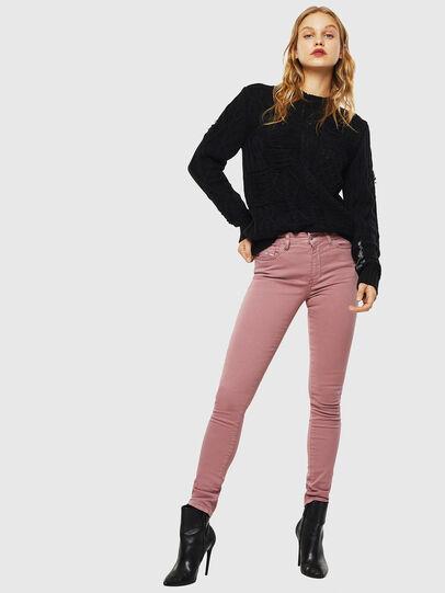 Diesel - D-Roisin 0096H, Hot pink - Jeans - Image 4