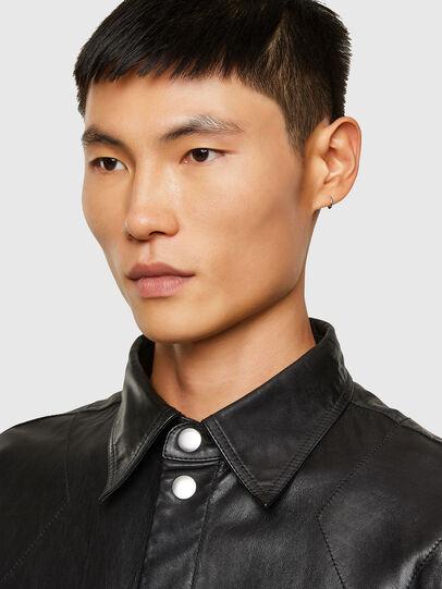 Diesel - L-BROWN, Black - Leather jackets - Image 3