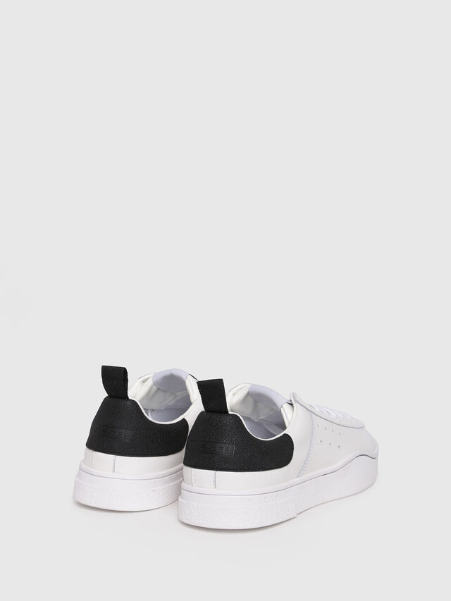 Diesel - S-CLEVER LOW W, White/Black - Sneakers - Image 3
