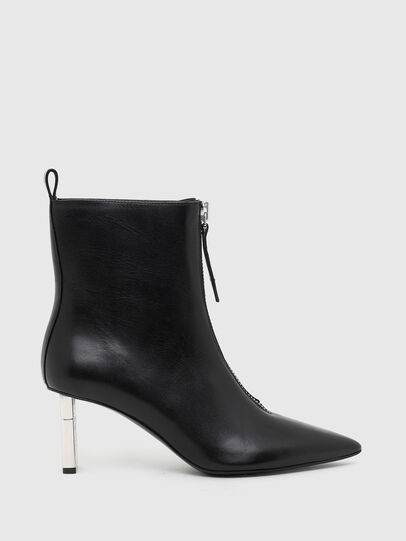 Diesel - D-LEZIPPO MAB, Black/Silver - Ankle Boots - Image 1