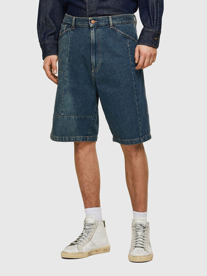 Diesel - D-FRANS-SP, Medium blue - Shorts - Image 1