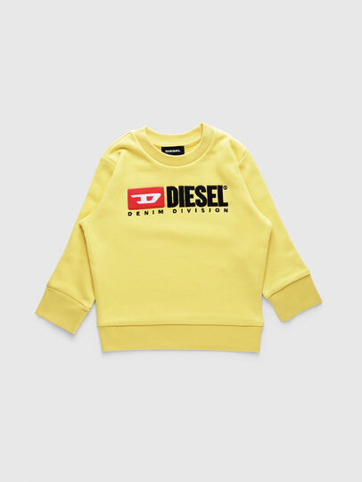 Diesel - SCREWDIVISIONB-R, Yellow - Sweaters - Image 1