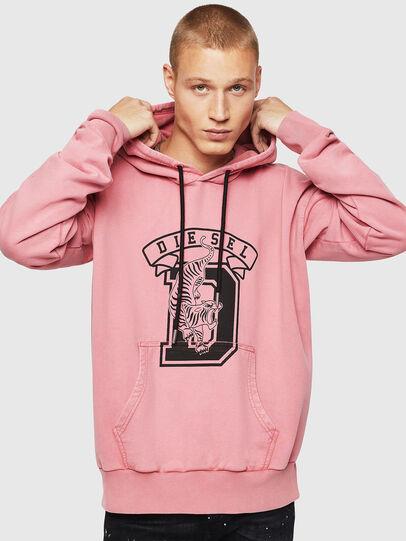 Diesel - S-ALBY-B8, Pink - Sweaters - Image 1