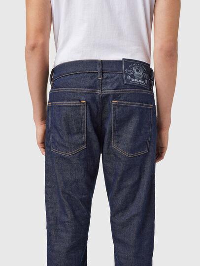 Diesel - D-Viker 09B28, Dark Blue - Jeans - Image 5