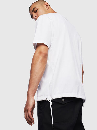 Diesel - T-HUSTY, White - T-Shirts - Image 4