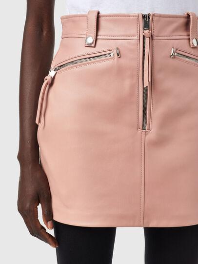 Diesel - L-EMILIA-A, Pink - Skirts - Image 3