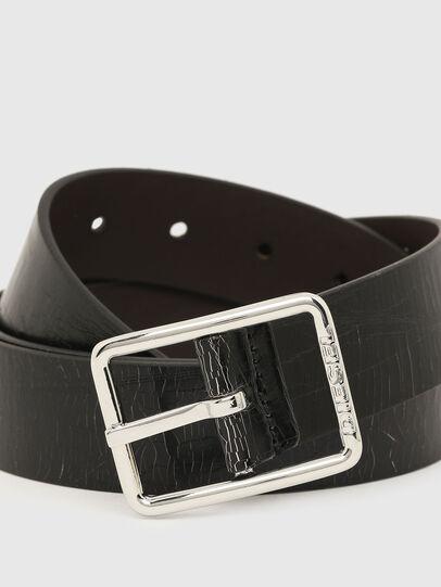 Diesel - B-PHOTO, Black/Brown - Belts - Image 2