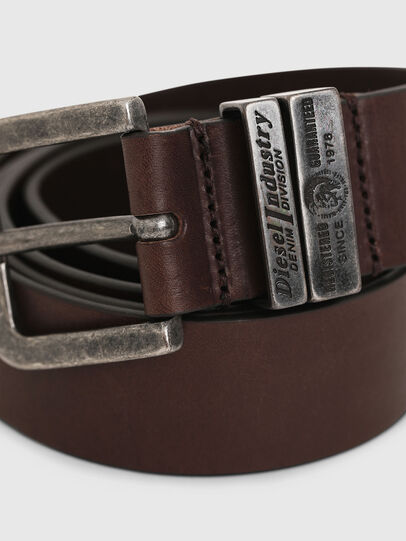 Diesel - B-BAC, Dark Brown - Belts - Image 2