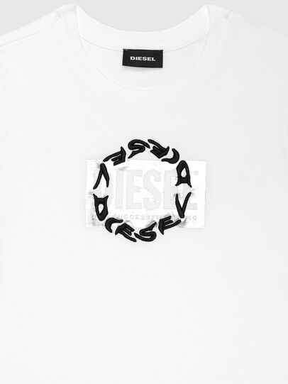 Diesel - TSILYRSUC ML, White - T-shirts and Tops - Image 3