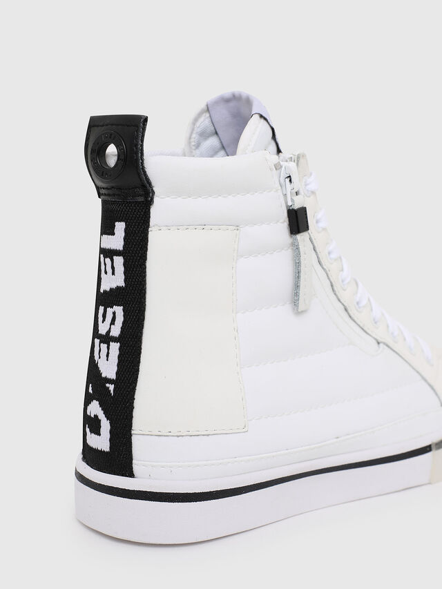 Diesel - D-VELOWS MID PATCH W, White - Sneakers - Image 5