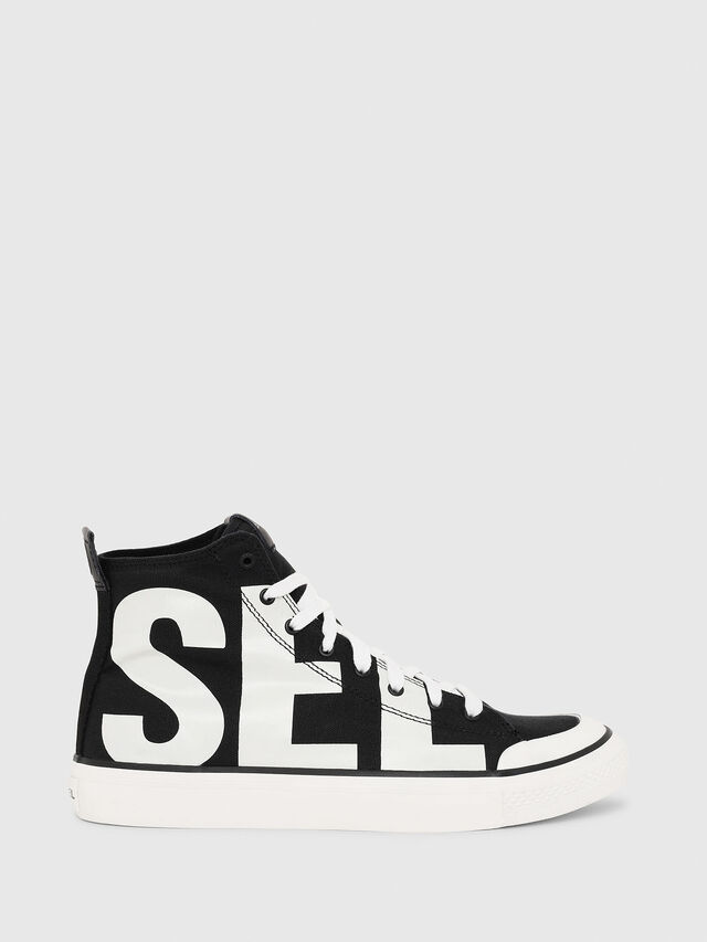 Diesel - S-ASTICO MC, Black/White - Sneakers - Image 1
